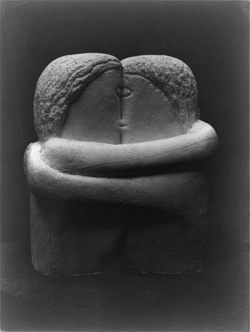 Patriarch of sculpture who carved a kiss in stone