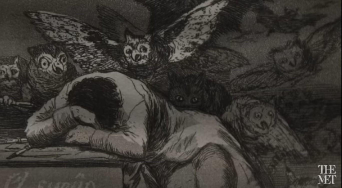 A glimpse of Goya