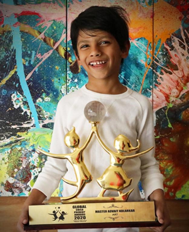 An artist since he was 2 years old: Meet Advait Kolarkar