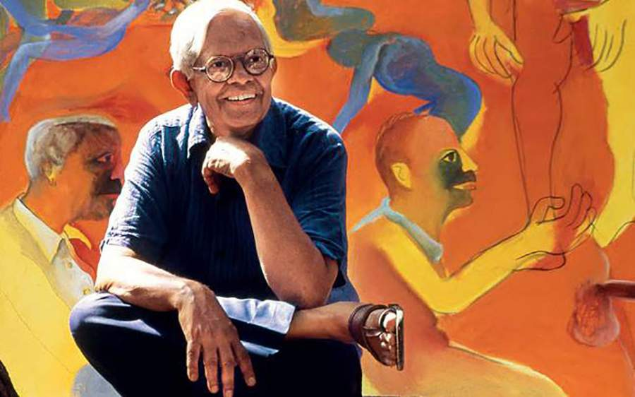 How Bhupen Khakhar came out as gay through his painting 'You Can't Please All'