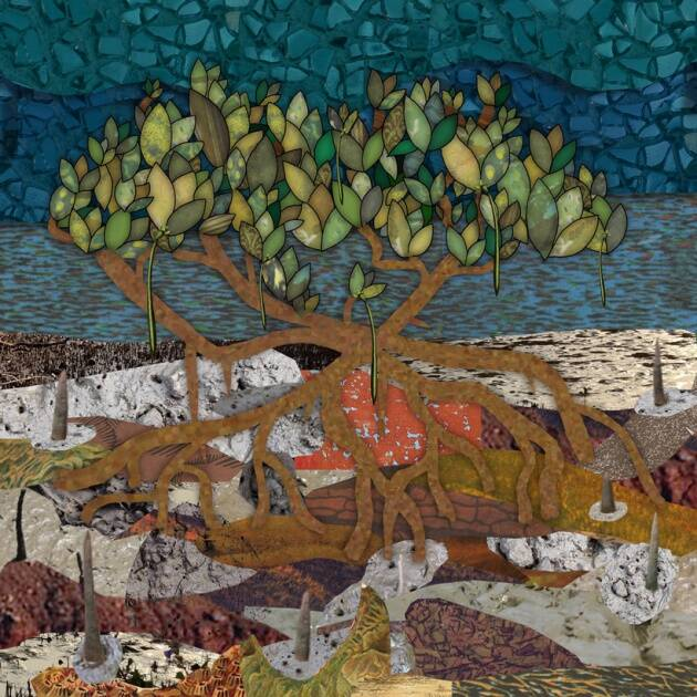 Art in the news for mangrove conservation, online bullying and… bananas