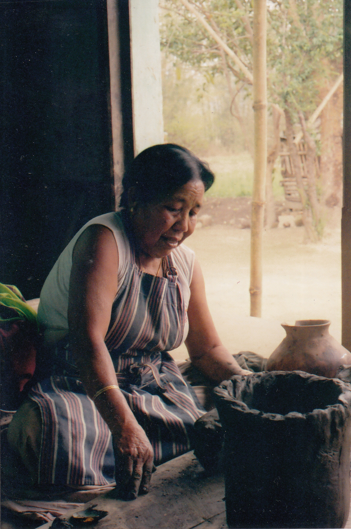 Neelmani Devi is the potter woman from Manipur who reinvented legend