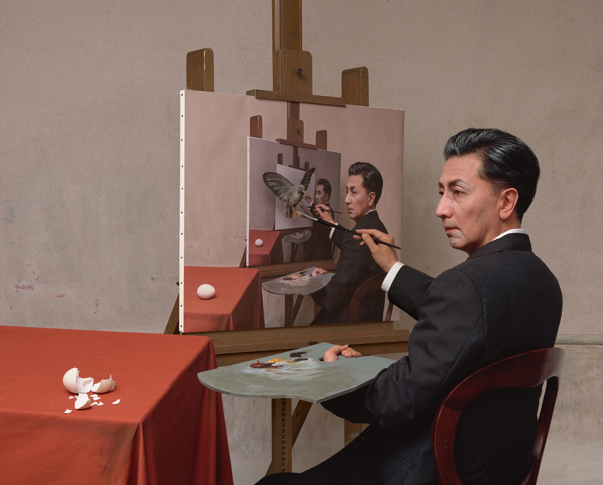It's only 'appropriate' to mark the birthday of this Japanese artist