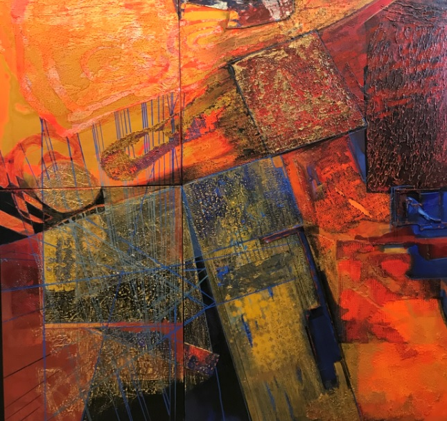 'My art is eclectic and so is my life — and both imitate one another!' says Brinda Miller
