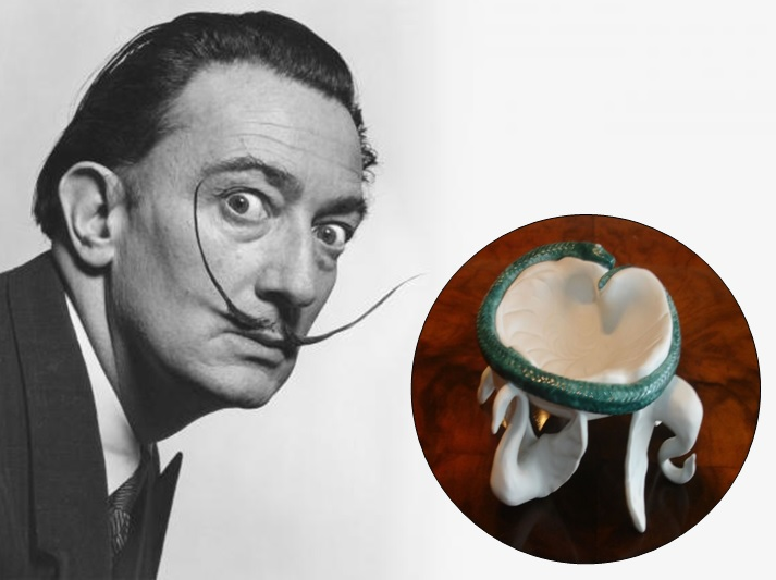 That's surreal! (When Dalí created a custom objet d'art for Air India in the 1960s)